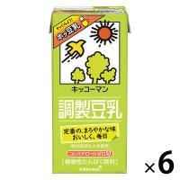 キッコーマン 調製豆乳 1000ml 1箱(6本入)