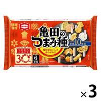 亀田製菓 つまみ種 120g 1セット(3袋入)