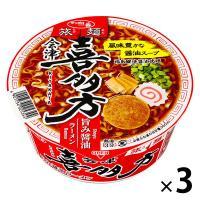サッポロ一番 旅麺 会津・喜多方 魚介醤油ラーメン 1セット(3食)