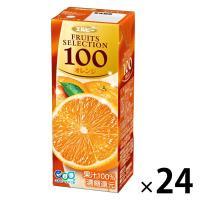 アウトレットエルビー Fruits Selection オレンジ 200ml 2029 1箱(200ml×24本入)