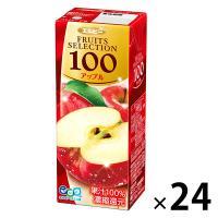 アウトレット エルビー Fruits Selection アップル 200ml 2028 1箱(200ml×24本入)