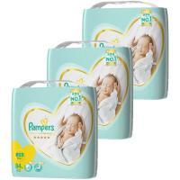 パンパース おむつ テープ 新生児(~5kg) 1ケース(84枚入×3パック) はじめての肌へのいちばん P&G