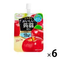 たらみ おいしい蒟蒻ゼリーりんご味 150g 1セット(6個入)