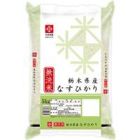 新米  無洗米 栃木なすひかり 5kg 令和元年産 米