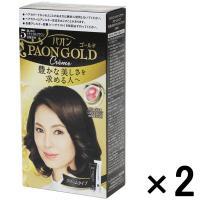 アウトレットヘンケルジャパン パオンゴールドヘアカラークリームタイプ5 1セット(2個:1個×2)