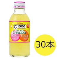C1000 ビタミンレモン コラーゲン&ヒアルロン酸 1セット(140mL×30本) ハウスウェルネスフーズ 栄養ドリンク・エナジードリンク