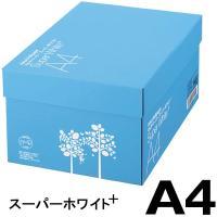 コピー用紙 マルチペーパー スーパーホワイト+ A4 1箱(5000枚:500枚入×10冊) 高白色 アスクル