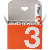 アスクル アルカリ乾電池 単3形 シュリンクなしパック 1パック(10本入)