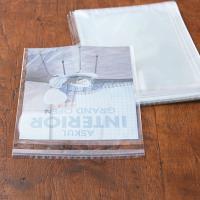 アスクルオリジナル OPP袋(テープ付き) A4 テープ付き 透明封筒 1袋(100枚入)