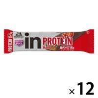 ウイダーinバー プロテイン ベイクドチョコ 12本 森永製菓  栄養補助食品
