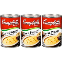 キャンベル  日本語ラベル コーンポタージュ 3缶