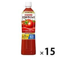 機能性表示食品 カゴメ トマトジュース食塩無添加 スマートPET 720ml 1箱(15本入) 野菜ジュース