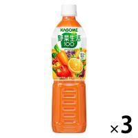 カゴメ 野菜生活100オリジナル スマートPET 720ml 1セット(3本) 野菜ジュース