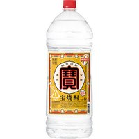甲類焼酎 宝酒蔵 宝焼酎 25度 宝 4Lエコペット×1本
