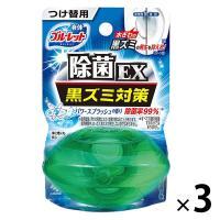 液体ブルーレットおくだけ除菌EX トイレタンク芳香洗浄剤 つけ替用 パワースプラッシュの香り 70ml ×3個 小林製薬