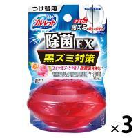 液体ブルーレットおくだけ除菌EX トイレタンク芳香洗浄剤 つけ替え用 ロイヤルブーケ 70ml×3個 小林製薬