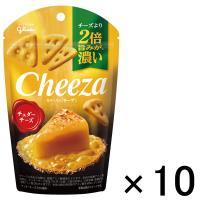 江崎グリコ 生チーズのチーザ チェダーチーズ 1セット(10個)