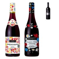(数量限定)ボジョレーヌーボー2019 ジョルジュ デュブッフ アソートセット 2本セット+ワイン(ティント)