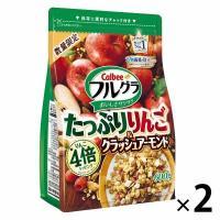 カルビー フルグラたっぷりりんご&クラッシュアーモンド 600g 2袋