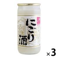 桃川 にごり酒カップ 200ml×3缶  日本酒