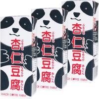 カルディコーヒーファーム オリジナルパンダ杏仁豆腐ミニ 215g 1セット(3個)