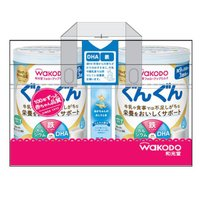 9ヵ月頃からWAKODO(和光堂) フォローアップミルク ぐんぐん(大缶)830g×2缶パック (おまけ付き) 1パック アサヒグループ食品