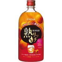 チョーヤ 極熟梅酒 熟リッチ 720ml 1本
