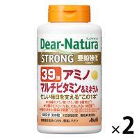ディアナチュラ(Dear-Natura) ストロング39種アミノ マルチビタミン&ミネラル 1セット(100日分×2個)アサヒグループ食品 アミノ酸サプリメント