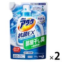 アタック 抗菌EX スーパークリアジェル 詰め替え 770g 1セット(2個入) 衣料用洗剤 花王 I5MmU4MzAx