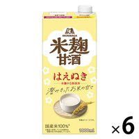 森永製菓 森永のやさしい米麹甘酒 1000ml 1箱(6本入)