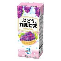 アウトレット ぶどう&カルピス 1ケース(250ml×24本)