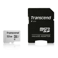 トランセンドジャパン 32GB マイクロSD TLC TS32GUSD300S-A 1個