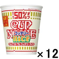 日清食品 カップヌードル コッテリーナイス 濃厚 ポークしょうゆ 12個