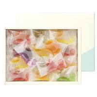 ホワイトデー2020 彩果の宝石 フルーツゼリーコレクション 1箱(25個入) 伊勢丹の紙袋付き 手土産ギフト