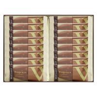 ホワイトデー2020 ヴィタメール マカダミア・ショコラ(ミルク)  1箱(16枚入) 伊勢丹の紙袋付き 手土産ギフト