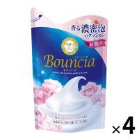 アウトレットバウンシアボディソープ エレガントリラックスの香り 詰め替え 430ml 牛乳石鹸共進社 1セット(4個:1個×4)