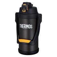 【セール】 サーモス(THERMOS) 水筒 真空断熱スポーツジャグ 大容量 2000ml ブラックオレンジ FFV-2001 BKOR ECO