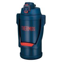 【セール】 サーモス(THERMOS) 水筒 真空断熱スポーツジャグ 大容量 2000ml ネイビーレッド FFV-2001 NV-R ECO