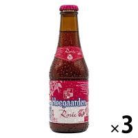 輸入ビール ヒューガルデン ロゼ 250ml×3本 アンハイザー・ブッシュ・インベブ