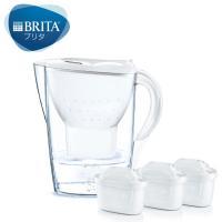 数量限定 ブリタ(BRITA)浄水器 ポット型 ピッチャー 1.4L マレーラCOOL マクストラプラス カートリッジ 3個付 日本正規品 水分補給