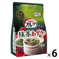 カルビー フルグラ 抹茶あずき味 700g 6袋