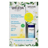 数量限定 WELEDA(ヴェレダ) エーデルワイス UVケアセット(日焼け止め・化粧下地) SPF38/PA++ 90mL
