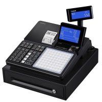 軽減税率対応 カシオ計算機 電子レジスター ブラック 1台 SR-C550-4SBK