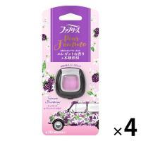 アウトレット P&G ファブリーズ イージークリップ プール・ファム チュベローズ&ブラックベリーの香り 1セット(4個:1個×4)