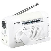 ソフトライトを搭載した手回し充電ラジオ