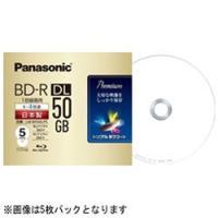50GB(片面2層ディスク)/1-4倍速対応の録画用BD-R DLです。