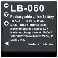 PENTAX XG-1に対応するバッテリーです。