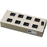 電源による音質効果を考えるオーディオファンのための8口仕様の電源タップです。