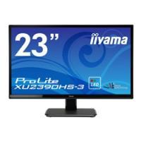 iiyama(イーヤマ) ProLite XU2390HS-3 23型ワイド液晶ディスプレイ マーベルブラック[1920×1080/AH-IPS/HDMI・DVI-D・VGA] XU2390HS-B3 [振込不可]