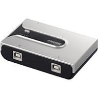 1台のUSB機器を2台のパソコンで切り替えて使える、 USB2.0 切替器